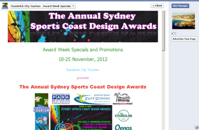 Sports Coast Design Awards